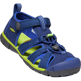 Keen Seacamp II CNX Sandals Youth blue depths/chartreuse